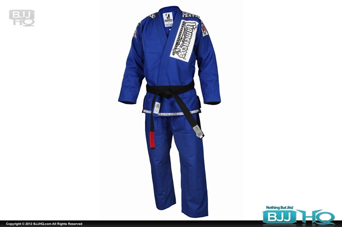 Blue Gameness Feather Gi